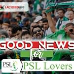 GOOD NEWS FOR PSL LOVERS
